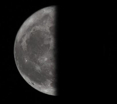 Εξασθενίζοντας ημισεληνοειδές φεγγάρι - Δευ, 30 Μαΐου 2016
