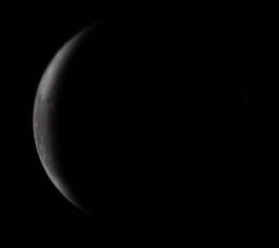 Εξασθενίζοντας ημισεληνοειδές φεγγάρι - Πεμ, 8 Ιουλίου 2021