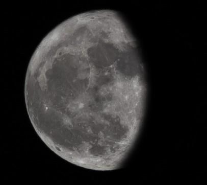 Εξασθενίζοντας κυρτό φεγγάρι - Δευ, 5 Οκτωβρίου 2020