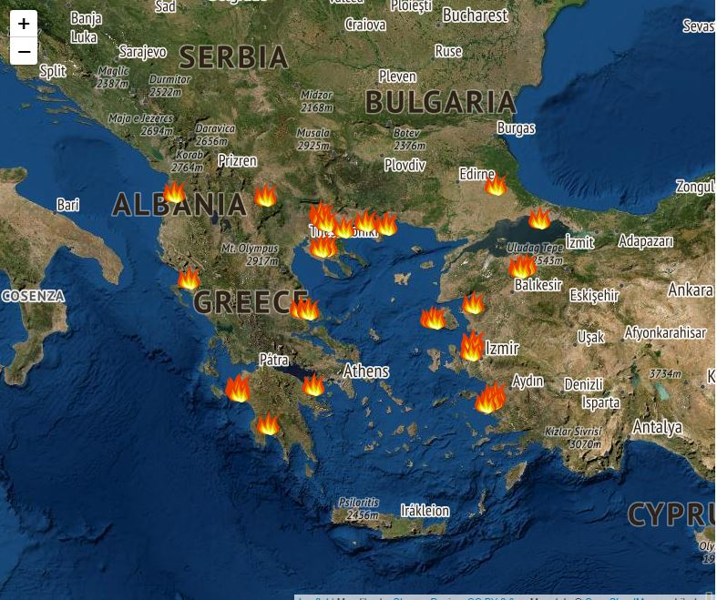 mykosmos.gr foties map widget