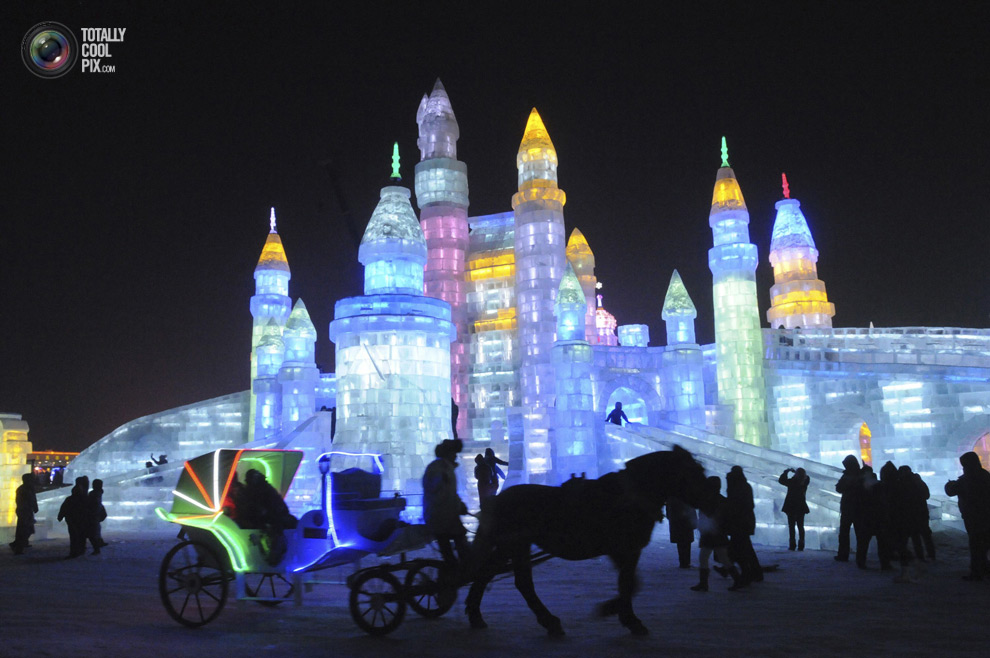 Ice and Snow World, Harbin, Κίνα