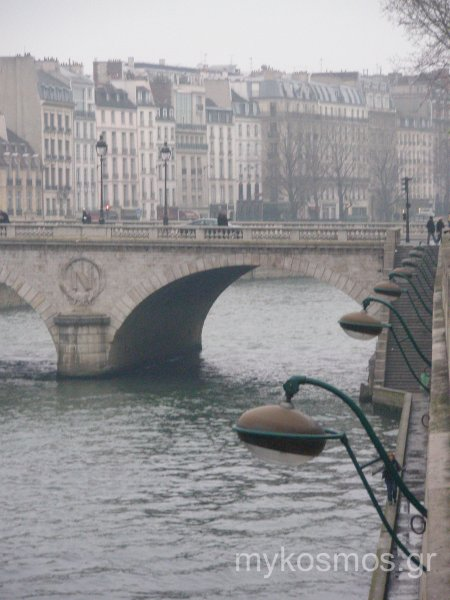 Cold morning in Paris