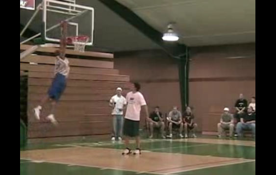 Hilarious dunk