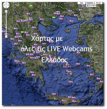 LIVE Webcams map