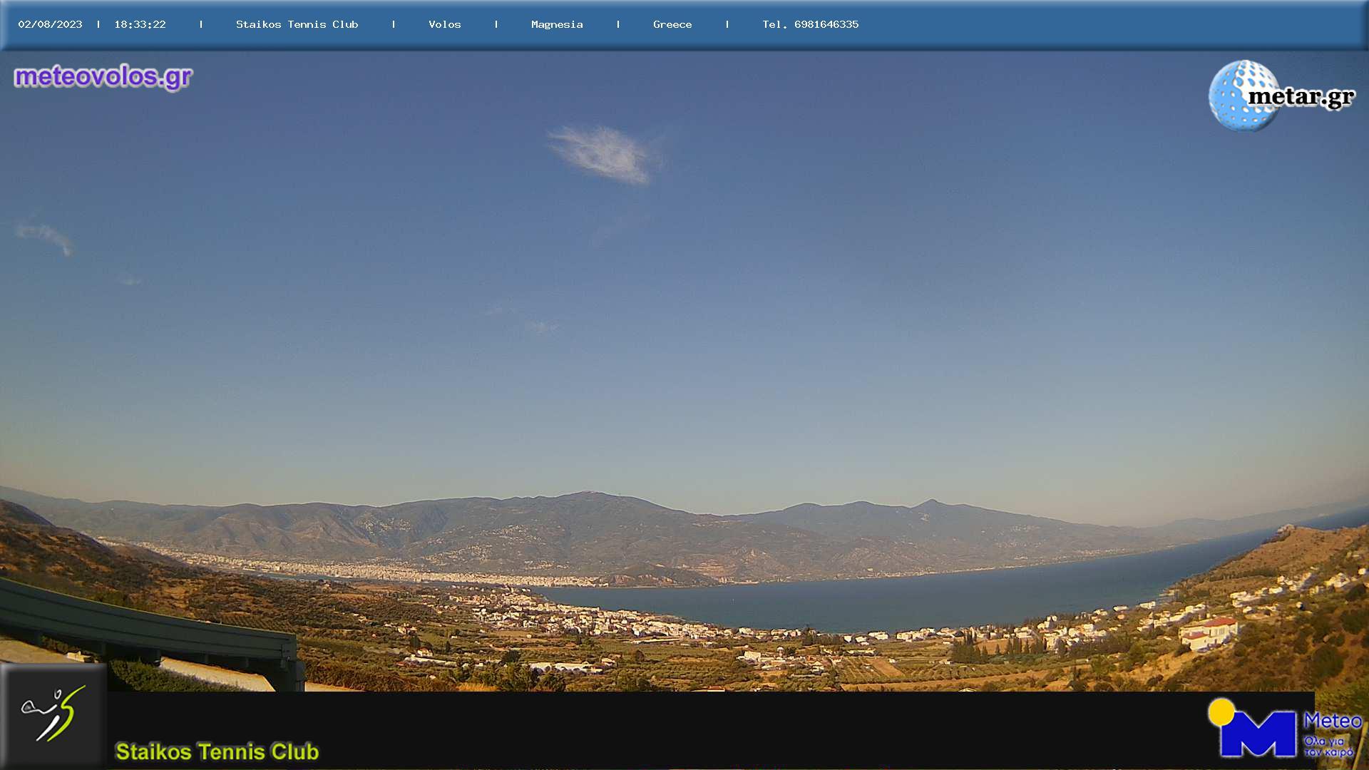 Webcam Βόλος - Παγασές