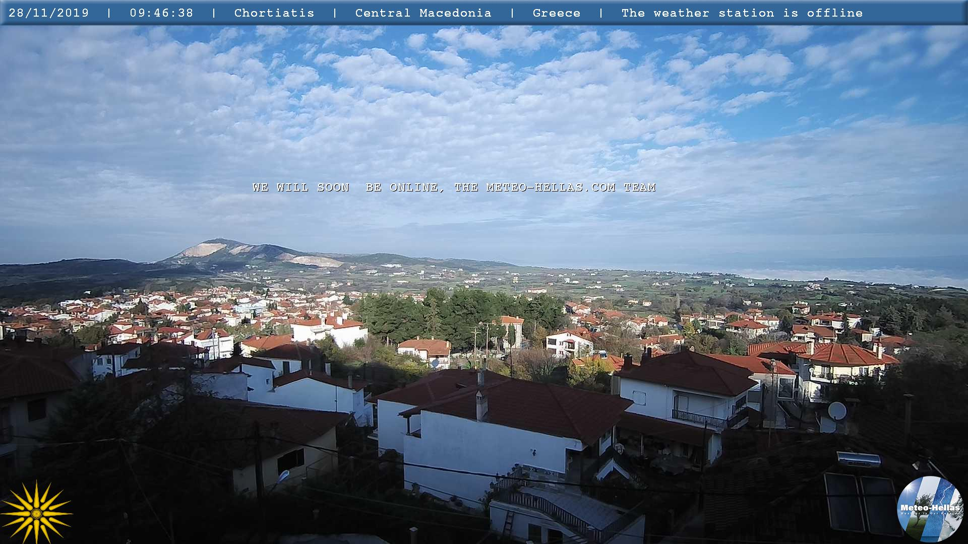 Webcam Thessaloniki - Chortiatis