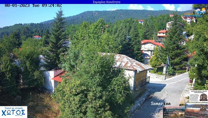 Webcam Samarina