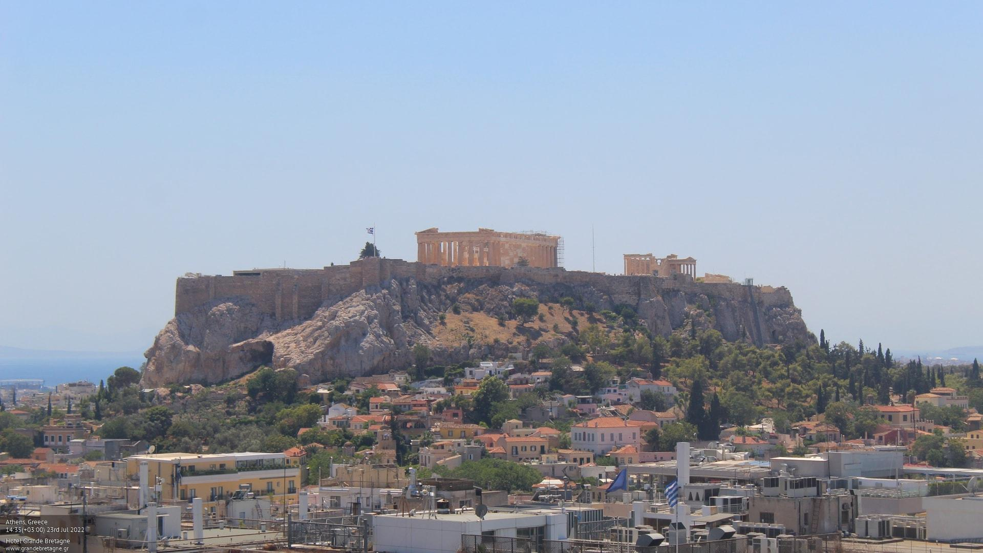 Webcam Athens - Acropolis