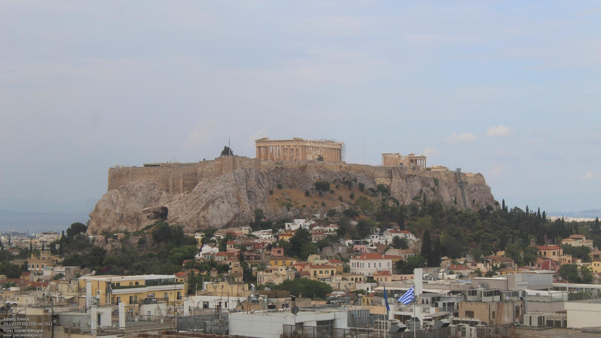 Webcam Αθήνα - Ακρόπολη