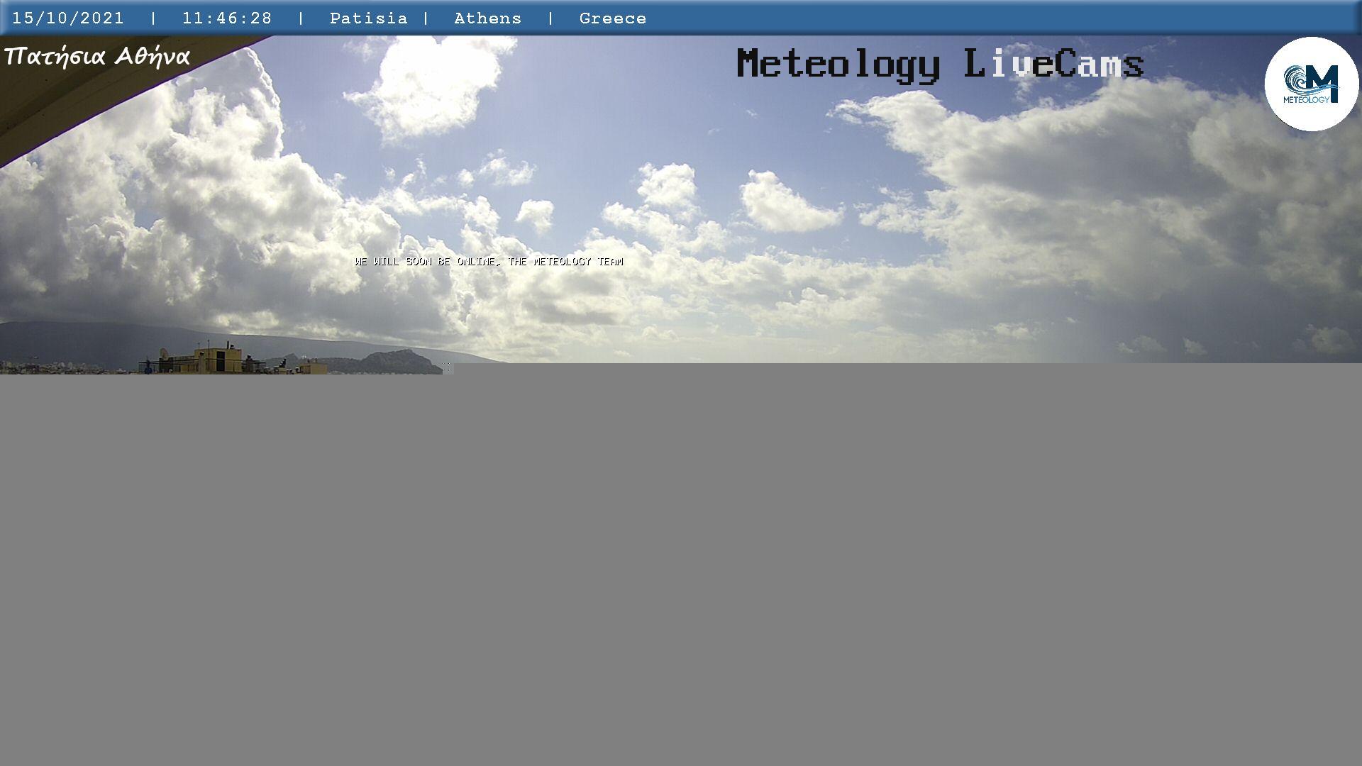 Webcam Αθήνα - Πατήσια