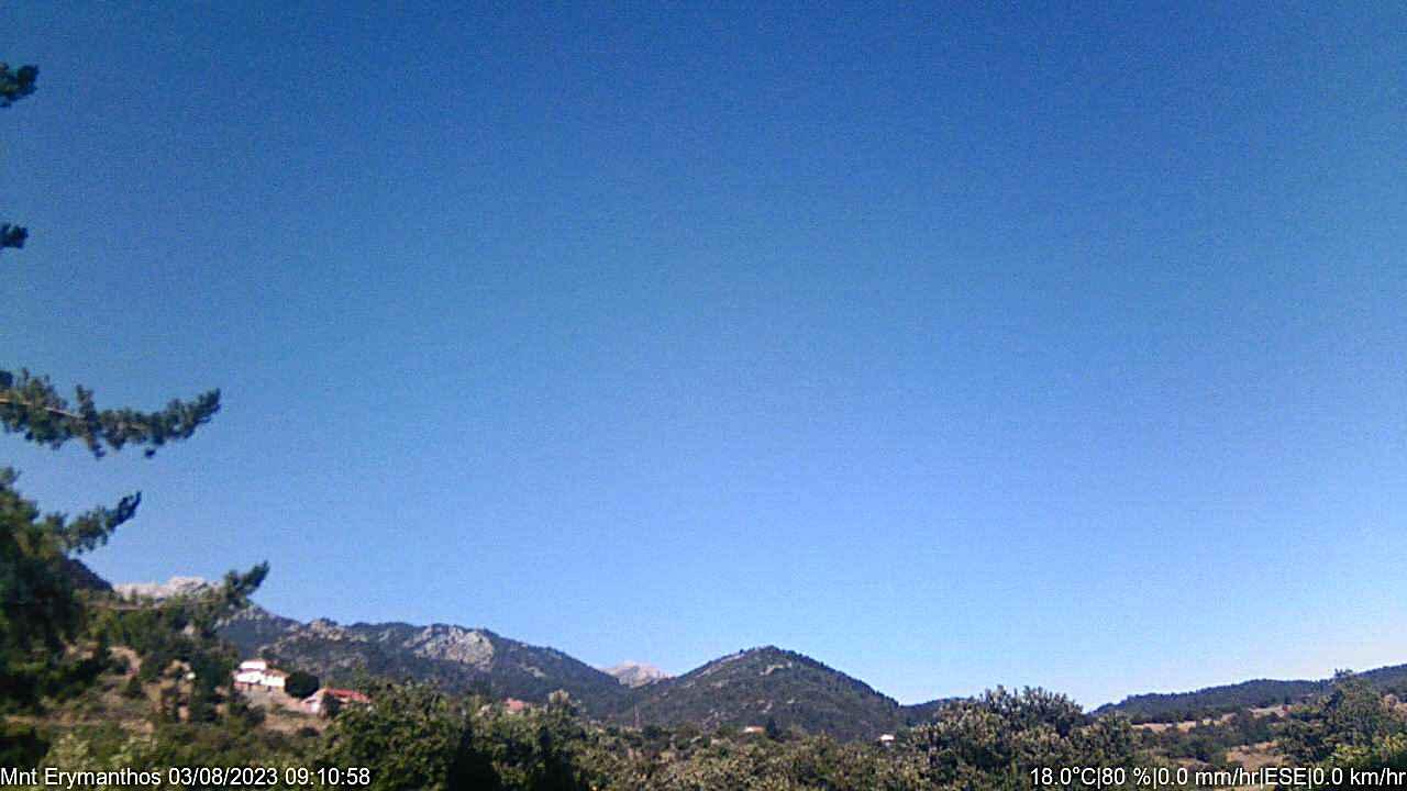 Webcam Όρος Ζήρεια - Αθλητικό Χιονοδρομικό Κέντρο