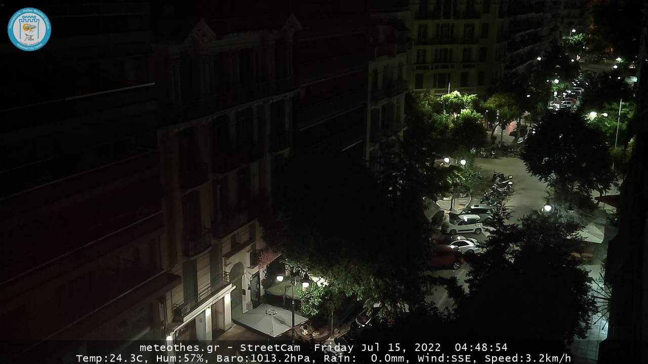 Webcam Thessaloniki