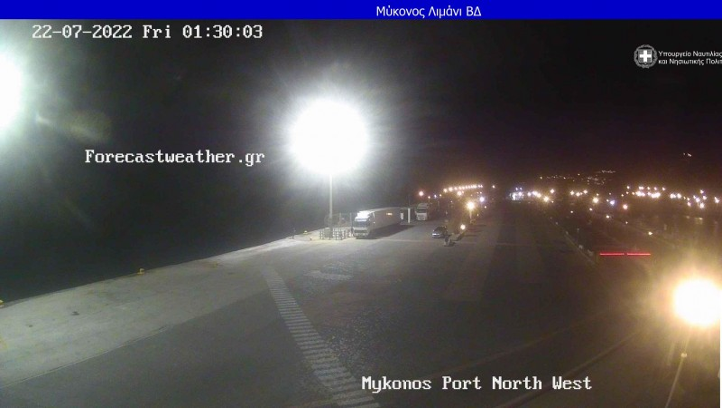 Webcam Μύκονος - λιμάνι
