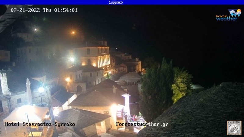 Webcam Syrrako Ioannina