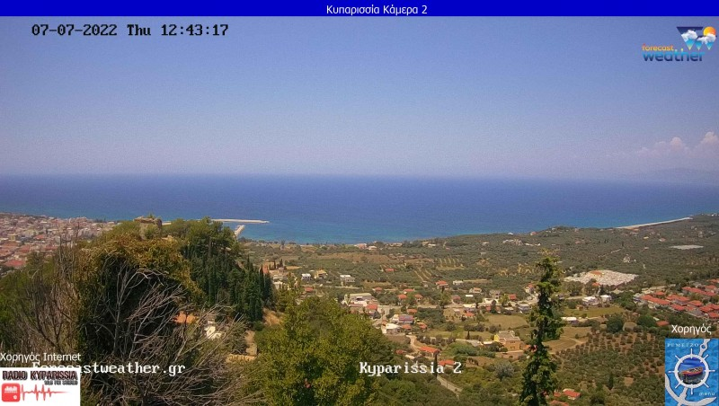 Webcam Neochori - Messinia