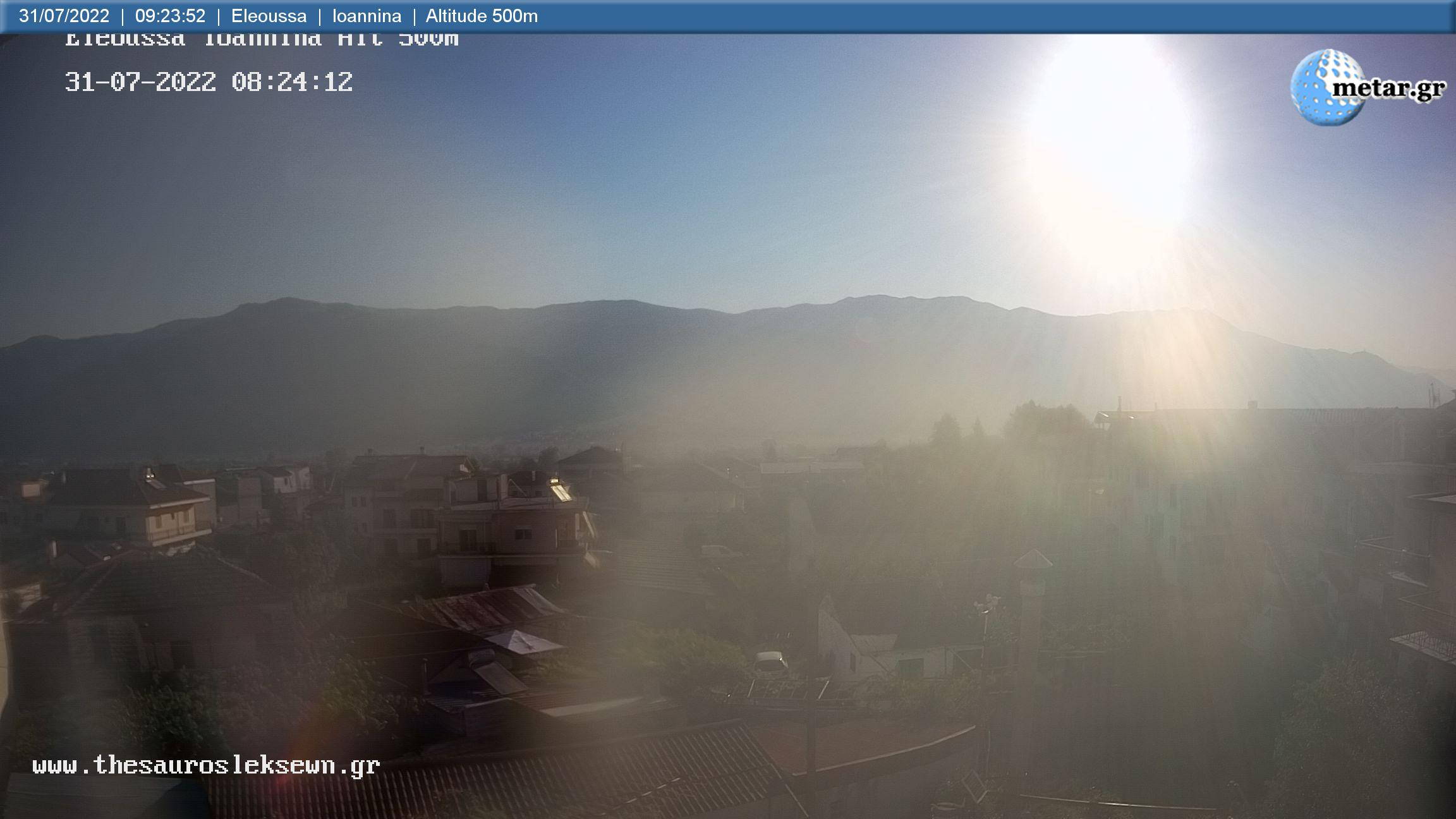 Webcam Lykostomo - Ioannina