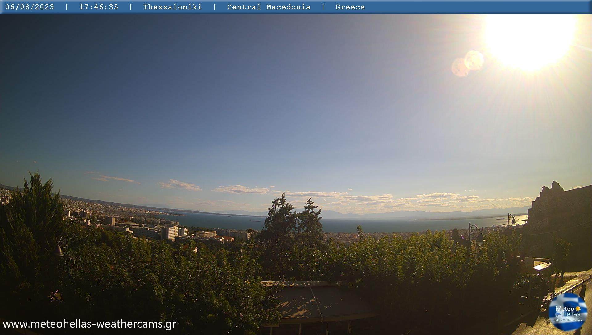 Webcam Θεσσαλονίκη - Πολίχνη