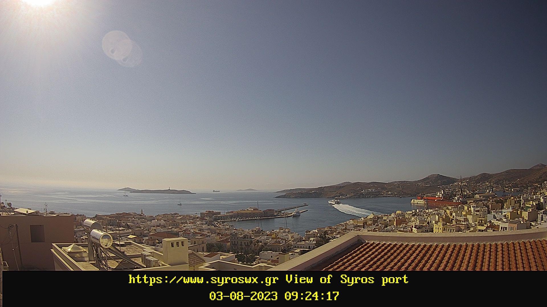 Webcam Ερμούπολη - Σύρος