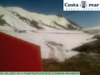 Webcam Drama - mount Falakro